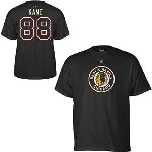 Chicago Blackhawks Patrick Kane Black Alternate T Shirt (Small)