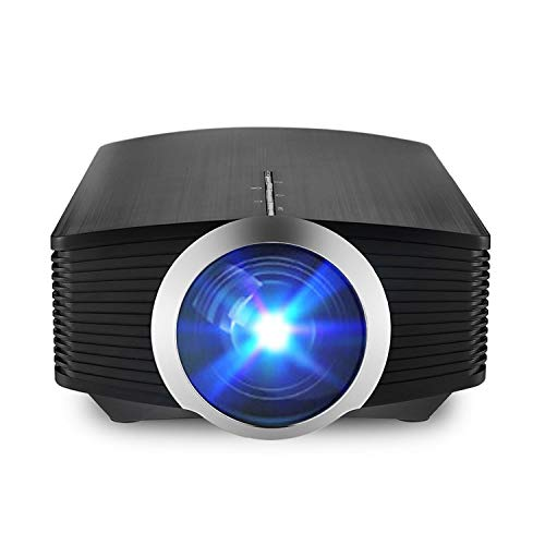 MiraScreen Multimedia Home Theater Movie Projector Support 1080P HDMI USB TF Card VGA AV for Laptop Tablet iPhone Andriod Smartphone