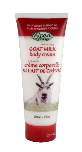 ALPEN SECRETS Goat Milk Body Lotion, (Pack of 6), 0.33 pounds