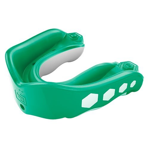 (Shock Doctor Gel Max Flavor Fusion Convertible Mouth Guard, Mint, Adult)