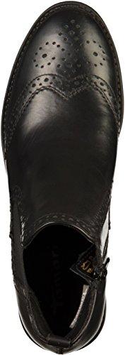 Tamaris25493 - Botas Chelsea Mujer negro (negro Leather)