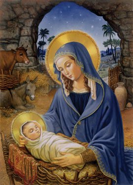 Mary with Child Box of 15 Christmas Cards