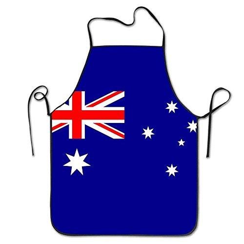 Carmen A Australia Flag Restaurant Apron ()