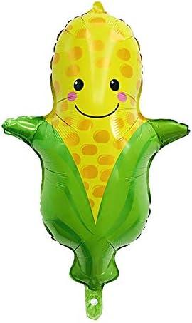 oinnaパーティー風船 フルーツ野菜シリーズ 子供会 お誕生日 お店 室内装飾 スーパーマーケット 飾り付け バルーンデコレーション 10個セット スタイル6 人参