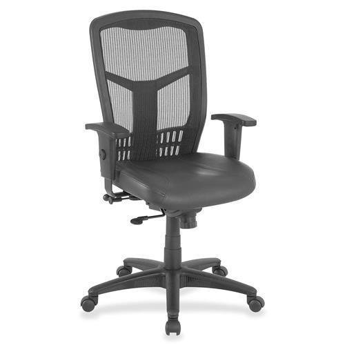 Lorell Executive Chair, Side/Synchronous, 28-Inch by 28-Inch by 45-Inch, Black
