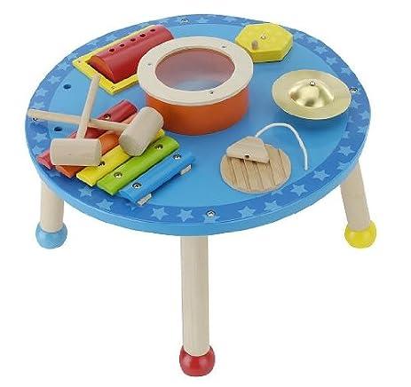Imaginarium Wooden Circular Musical Activity Table