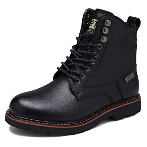 Dr Martens Boots Stivali per Adulti Stivali per Il Deserto Pelle Classica Abbigliamento per Il Tempo Libero Plus Stivali di Velluto Stivali Militari Black