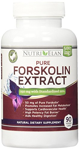 Forskolin-250mg-Fat-Burner-90-Capsules-Standardized-20--250mg-Per-Capsule-with-50mg-of-Active-Coleus-Forskohlii-Natural-Appetite-Suppressant-and-Weight-Loss-Supplement