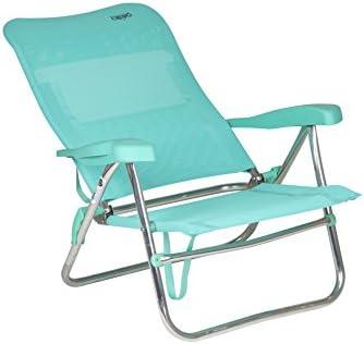 Crespo 1148255 CR - Silla de Playa de Aluminio-205/06, Verde ...