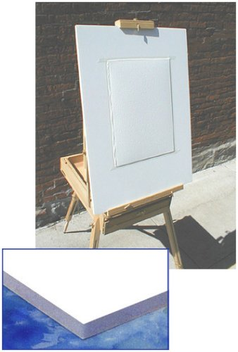 Watercolor Painting Board 1/4 Sheet Size 12 x 16 inches x 3/16 inches thick