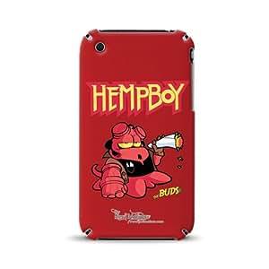 Diabloskinz D 0003-0066-0058 Hempboy totalmente con tapa para Apple iPhone 3/3GS