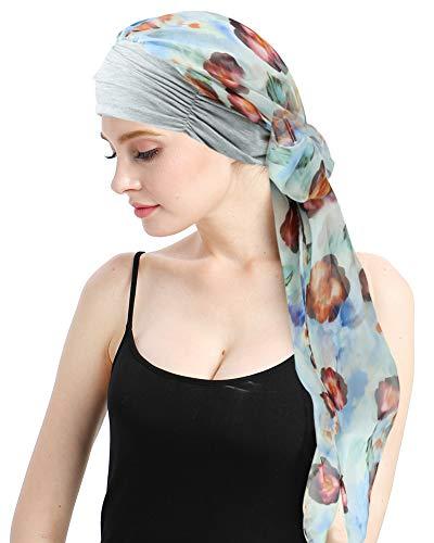 Hair Turbans Hats for Cancer Women Wig Cap Long Hair Headwear Headwraps ()
