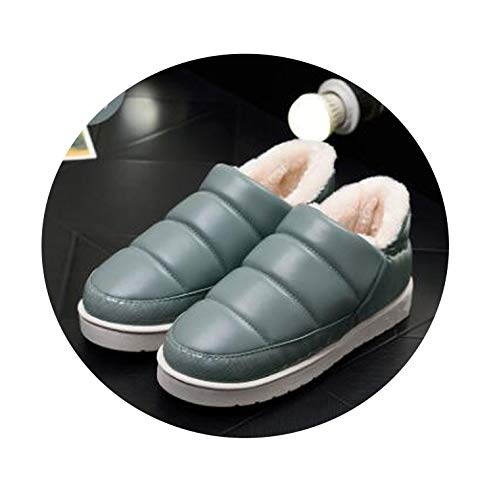 YP-fashion Boots Warm Winter Ankle Leather Snow Flats for sale  Delivered anywhere in Canada
