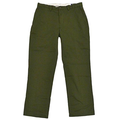 Polo Ralph Lauren Mens Classic Fit Stretch Chino Pants (36x34, Green) (Lauren Green Khaki Ralph)