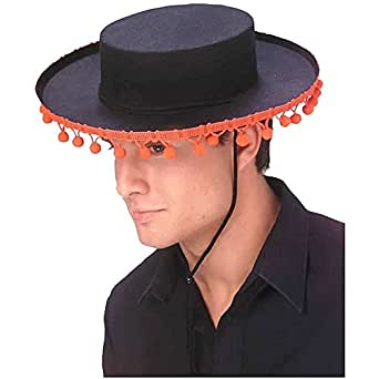 Adult Durashape Spanish Hat with Pompoms