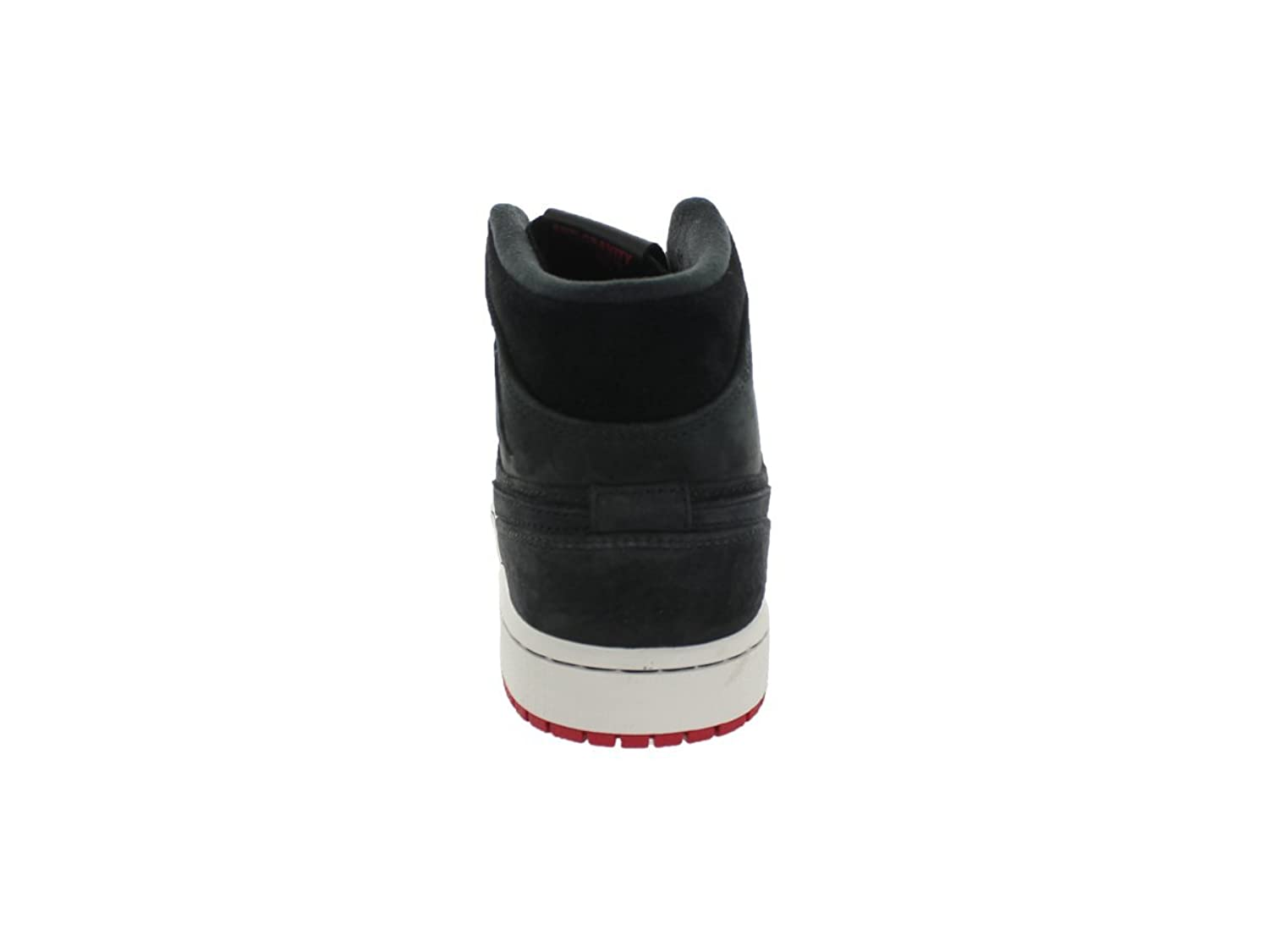 Nike Air Jordan 1 Mi Nouveau Noir / Noir Gym Rouge-voiles-salon r9gD5H6
