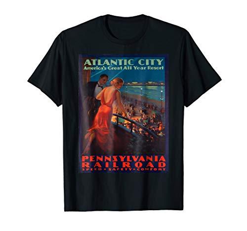 (Vintage poster - Atlantic City T-Shirt)