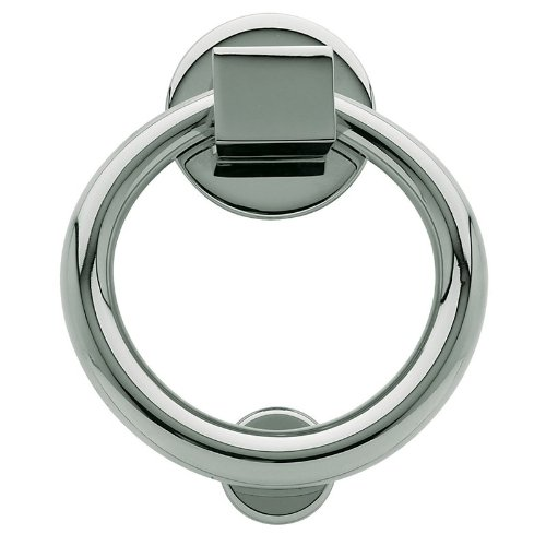 Baldwin 0195.260 Polished Chrome Ring Door Knocker