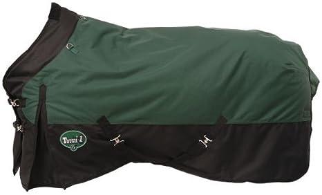 Tough 1 Premium 1200 Denier Waterproof Medium/Heavy Weight Nylon Turnout Blanket - 300g Fill JT International