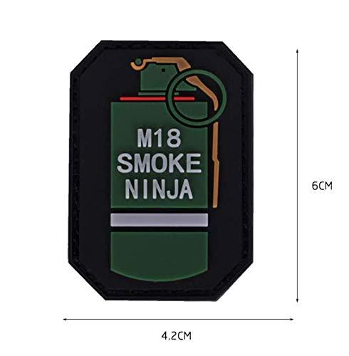 Amazon.com: Morton Home M18 Smoke Ninja 3D PVC Tactical ...