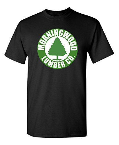 Morningwood Lumber Offensive Humor Adult Novelty Graphic Tees Funny T Shirt 3XL Black ()