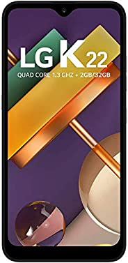 Smartphone LG K22 , 2GB/32GB, Tela de 6, Câmera Dupla 13Mp+2Mp, Selfie de 5Mp, Processador Qualcomm QM215 , Ba