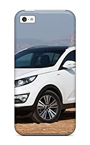 New Style 8286199K24224824 Anti-scratch Case Cover Protective 2014 Kia Sportage White Case For Iphone 5c