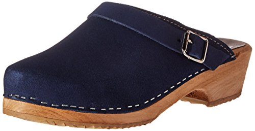 MIA Women's Alma Mule, Blue, 8 M US (Blue Womens Clogs)