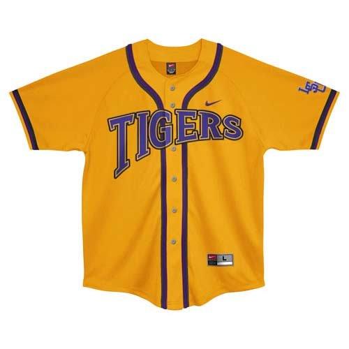 Amazon.com : Nike LSU Tigers Gold No Hitter Baseball