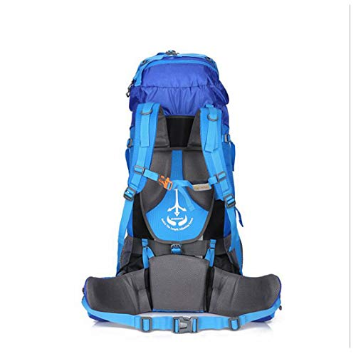 Tapa Jiuyizhe Impermeable Mochila A Blue Con color Lluvia Acampar Para Prueba Escalar Blue Viaje Agua Senderismo De IAIqwrz