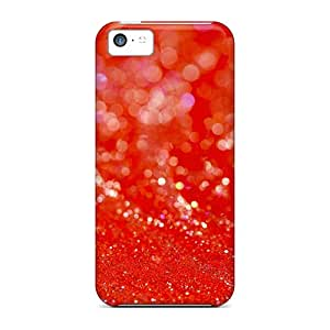 Hot New Red Sparkles Cases Covers For Iphone 5c With Perfect Design