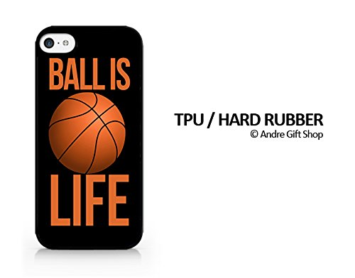 TPU / RUBBER Black Case - Ball Is Life - Basketball Is Life - iPhone 6/6S Plus (5.5