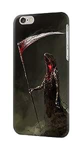 E1319 Grim Reaper Death Scythe Funda Carcasa Case para IPHONE 6S