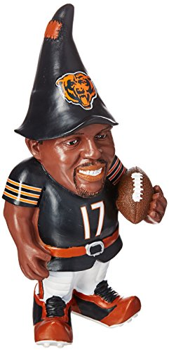 FOCO Chicago Bears Jeffery A. #17 Resin Player Gnome by FOCO