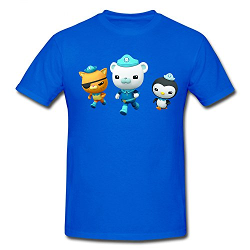 XHANd Children The Octonauts Band Soft T-Shirt blue L (Octonauts Symbol)