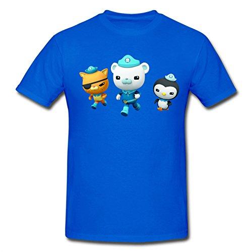 XHANd Children The Octonauts Band Soft T-Shirt blue L]()