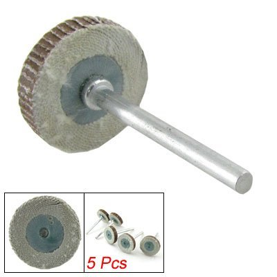 eDealMax 20 x 4 mm abrasivo husillo Montada de la aleta de ...