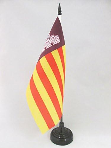 AZ FLAG Bandera de Mesa de Mallorca 21x14cm - BANDERINA de ...