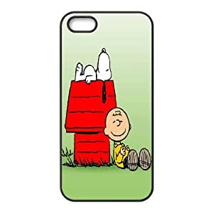 iPhone 5,5S Phone Case Charlie Brown and Snoopy T8T91408
