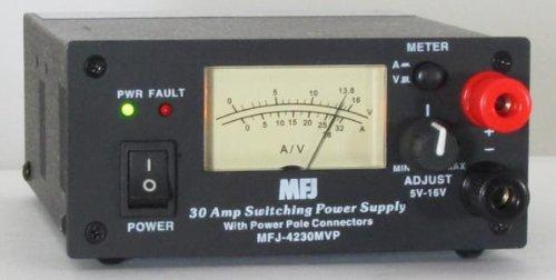 MFJ-4230MVP COMPACT SWITCH PS, MTR/PP/4-16V ADJ. 110 by MFJ