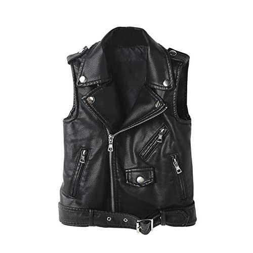 low-cost YoungSoul Chaleco de piel sintetico para Mujer - Cazadoras sin  mangas de motorista b3e6163928cf
