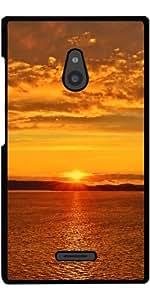 Funda para Nokia XL - Puesta De Sol Salida Del Sol by WonderfulDreamPicture