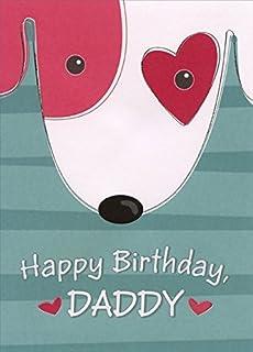 Amazon Com Happy Birthday Daddy Greeting Card Dad Father Cute