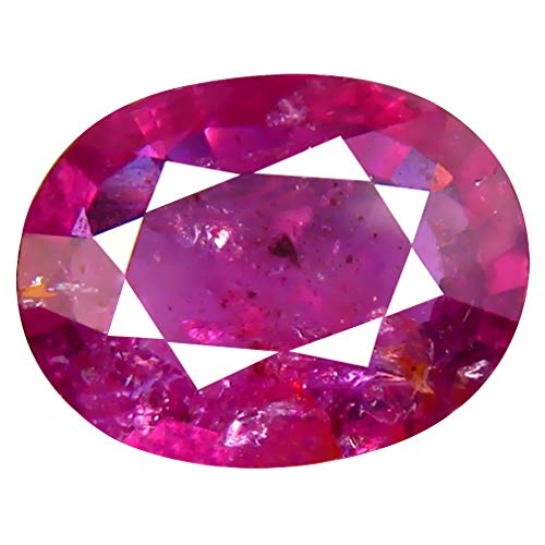 2.13 ct Oval Cut (9 x 7 mm) Unheated/Untreated Pink Sapphire Natural Genuine Loose - Natural 2.13 Ct