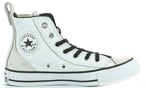 Converse Star Hi Chelsee White/Silver qmpHYZwEe