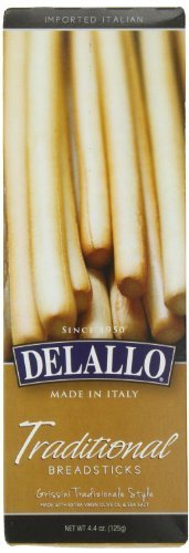 DELALLO BREADSTICK TRADITIONAL, 4.4 OZ by DeLallo