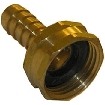 garden hose repair. LASCO 15-1571 1/2-Inch Barb By 3/4-Inch Garden Hose Repair T