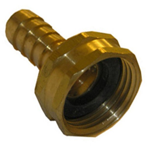 - LASCO 15-1571 1/2-Inch Barb by 3/4-Inch Female Garden Hose Repair Coupling