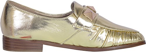 Catherine Malandrino Womens Studded Slip-On Loafer (More Colors Available) Gold KIsmfgY8