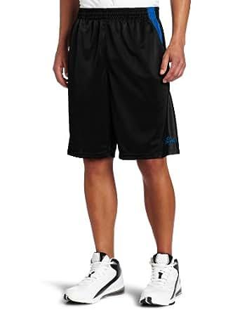 Spalding Men's Reverse Dazzle Short, Black, Medium